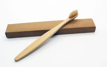Bamboo Toothbrush - Natural